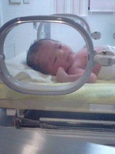 谷原圭一先生、瞳先生に男児誕生